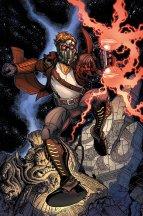 Nick Bradshaw, que desenhava Guardiões da Galáxia.